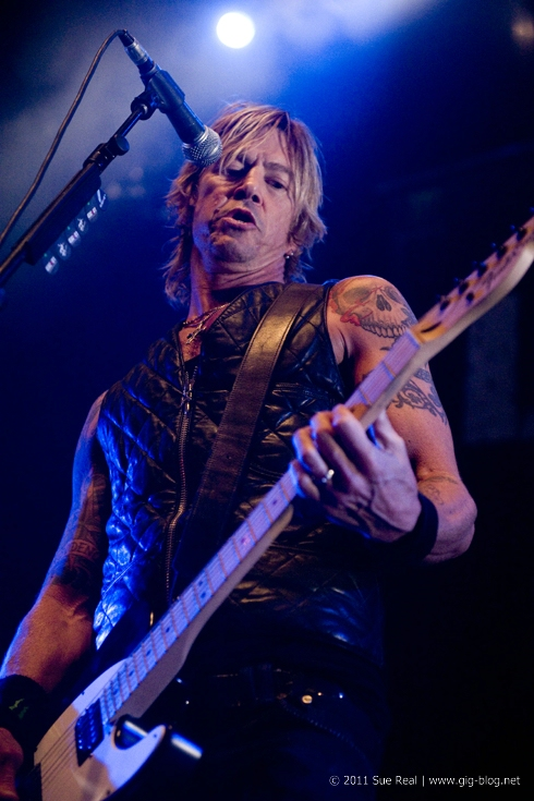 DUFF McKAGAN'S LOADED, 27.11.2011, Hanns-Martin-Schleyer-Halle, Stuttgart