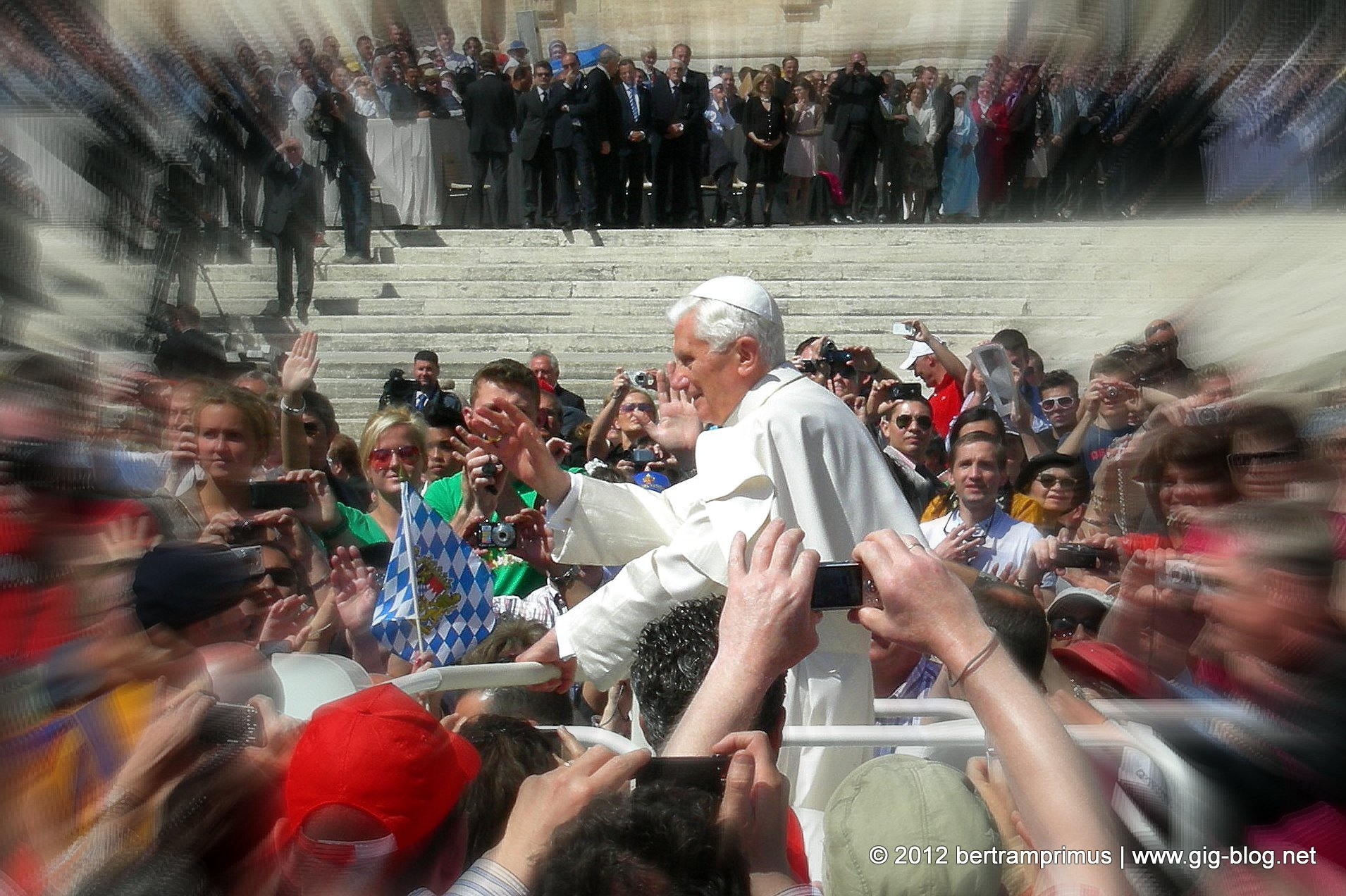 Generalaudienz Papst Benedikt XVI.