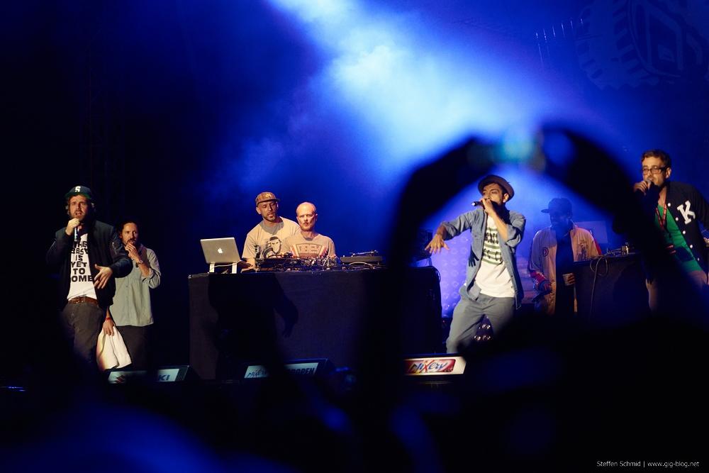 Die Kolchose bei den Hip Hop Open 2012