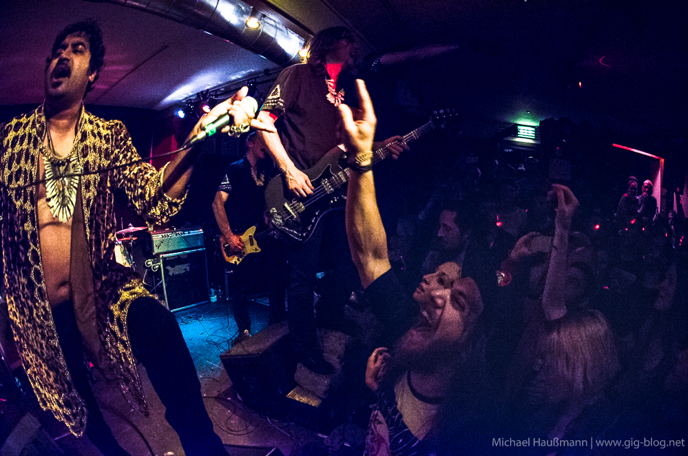 KING KHAN & THE SHRINES, 26.04.2014, Goldmark's, Stuttgart