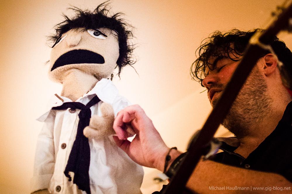 the indelicates, 05.07.2014, wohnzimmer, stuttgart   gig-blog, Wohnzimmer