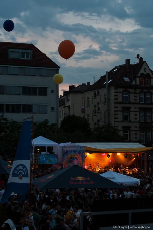 MARIENPLATZFEST, 03.-06.07.2014, Marienplatz, Stuttgart