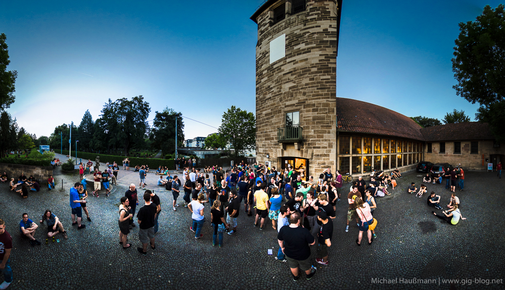 REEL BIG FISH, 18.07.2014, Martinskirche, Stuttgart