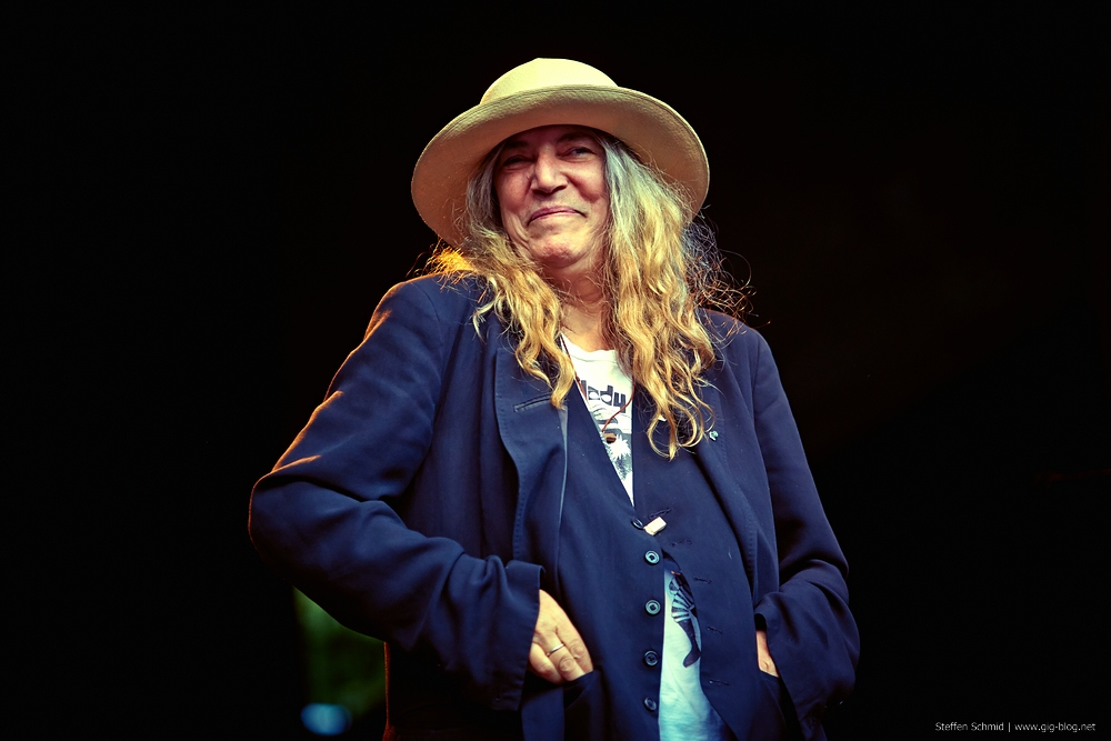 PATTI SMITH, 05.08.2014, Freilichtbühne Killesberg, Stuttgart