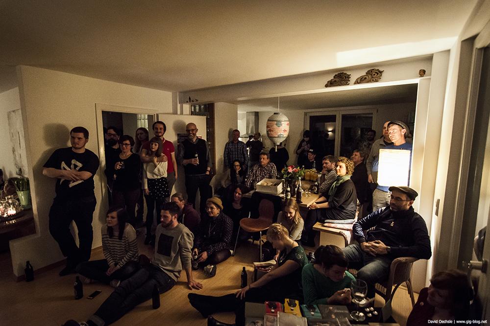 BEN SCHADOW BAND, 13.02.2014, Wohnzimmer, Stuttgart