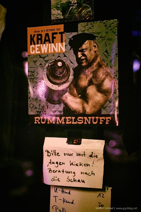 RUMMELSNUFF, 06.02.2014, Dieselstraße, Esslingen