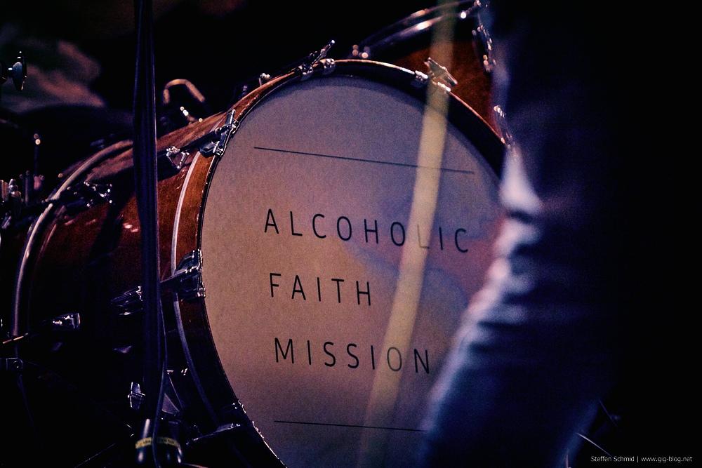 ALCOHOLIC FAITH MISSION, 19.03.2015, Manufaktur, Schorndorf
