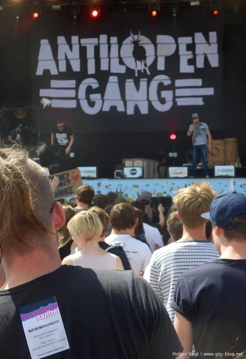 ANTILOPEN GANG, CHIEMSEE SUMMER 2015, 19.-23.08.2015, Übersee