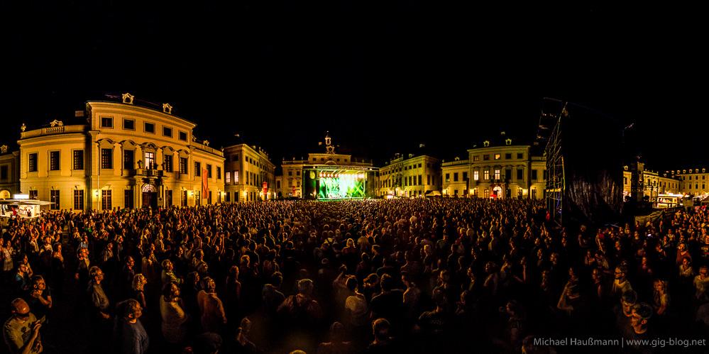 LABRASSBANDA, 05.08.2015, Schloss Ludwigsburg
