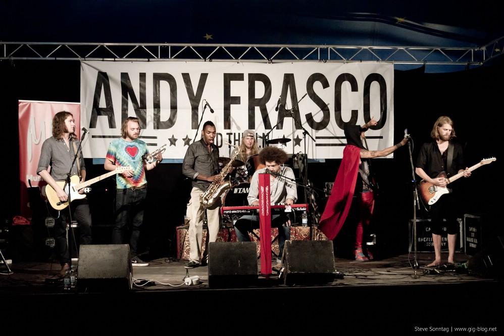 ANDY FRASCO & THE U.N., 08.08.2015, Umsonst & Draußen, Stuttgart