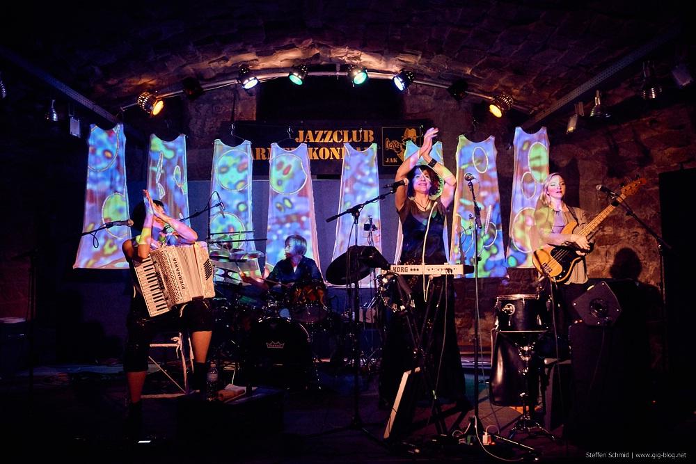 IVA NOVA, 16.10.2015, Jazzclub Armer Konrad, Weinstadt-Beutelsbach