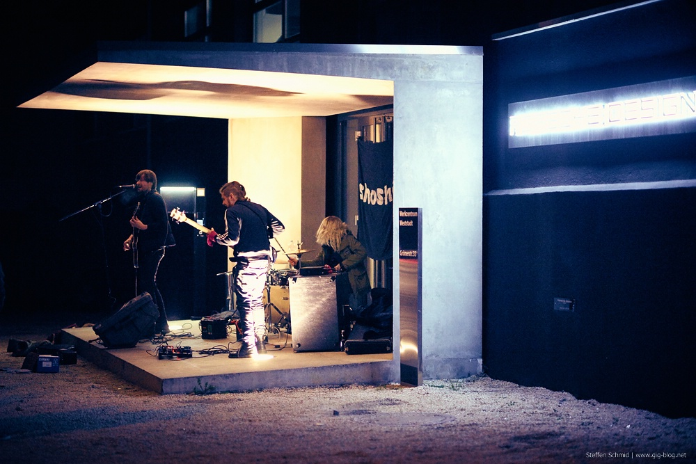 SHOSHIN, 14.10.2015, Parkplatz Rockfabrik, Ludwigsburg