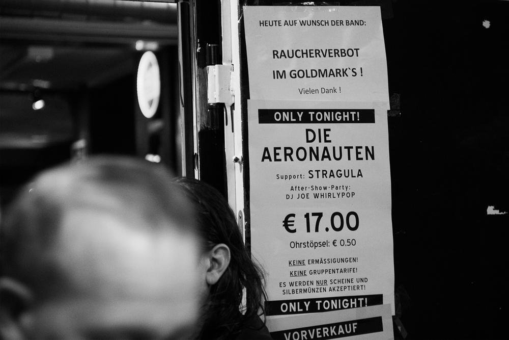 DIE AERONAUTEN, STRAGULA, 20.10.2015, Goldmark's, Stuttgart