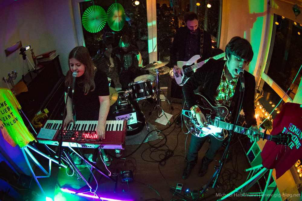 SIMON LOVE & THE OLD ROMANTICS, 23.04.2016, InDieWohnzimmer, Stuttgart