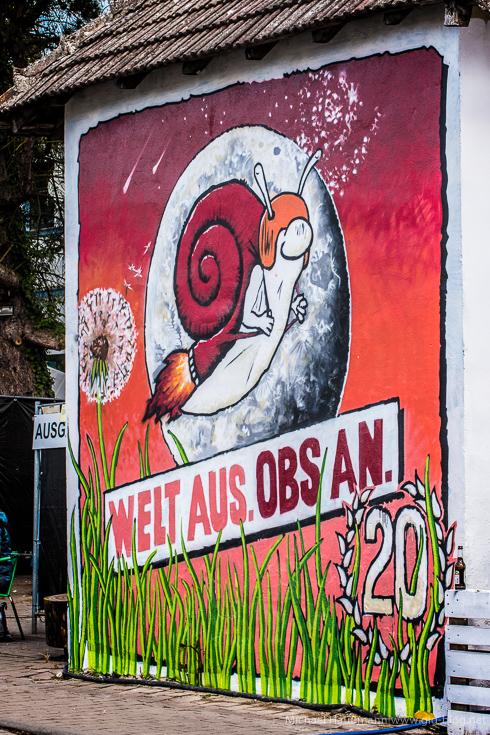 ORANGE BLOSSOM SPECIAL 20, Tag 1, 13.05.2016, Glitterhouse Garten, Beverungen
