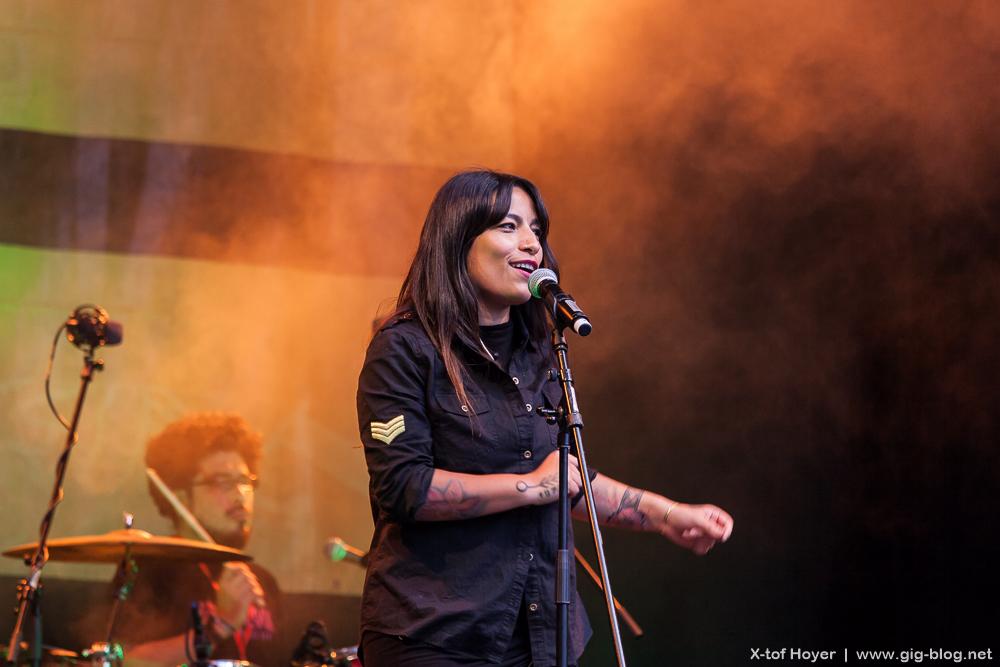 ANA TIJOUX, 12.07.2016, Sommerfestival der Kulturen, Marktplatz, Stuttgart