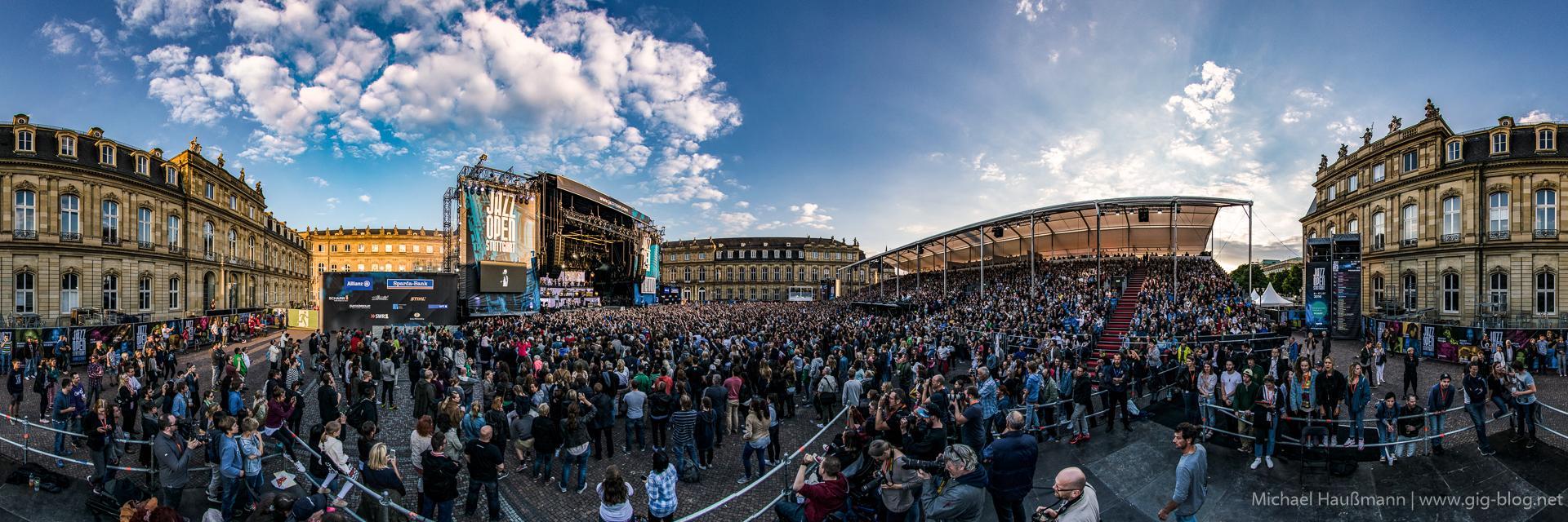 CRO MEETS JAZZ, DANA LEONG & BAND, 15.07.2016, Jazz Open, Schlossplatz, Stuttgart