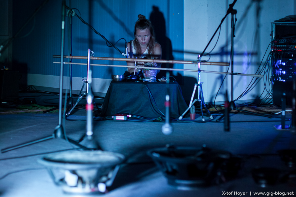 KASIA KALASCHNIKOV feat. REACTIVE ENSEMBLE, 22.07.2016, Palermo Galerie, Stuttgart