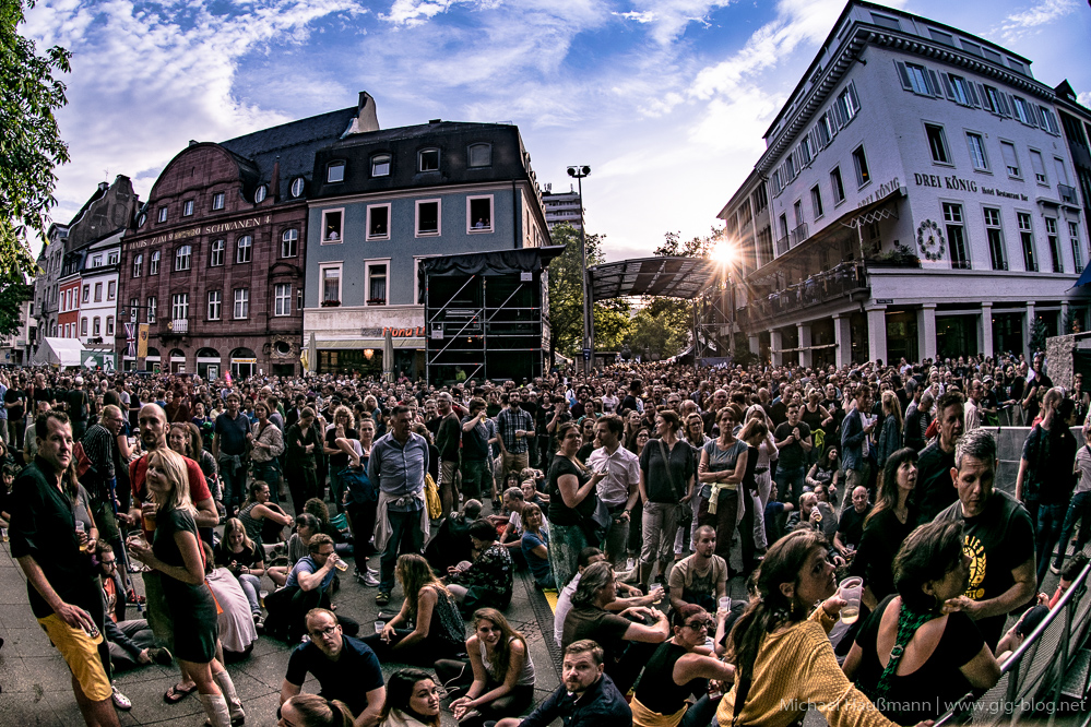 MASSIVE ATTACK, DENIS JONES, 22.07.2016, Stimmen Festival, Marktplatz, Lörrach