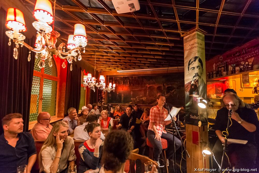 Proust-Hörspiel Vorpremiere, 23.08.2016, Cafe Weiß, Stuttgart