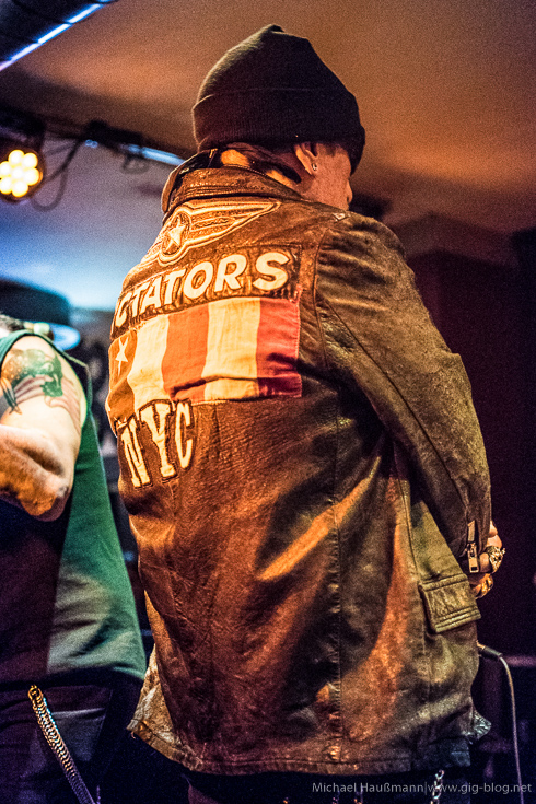 THE DICTATORS NYC, 09.08.2016, Goldmark's, Stuttgart