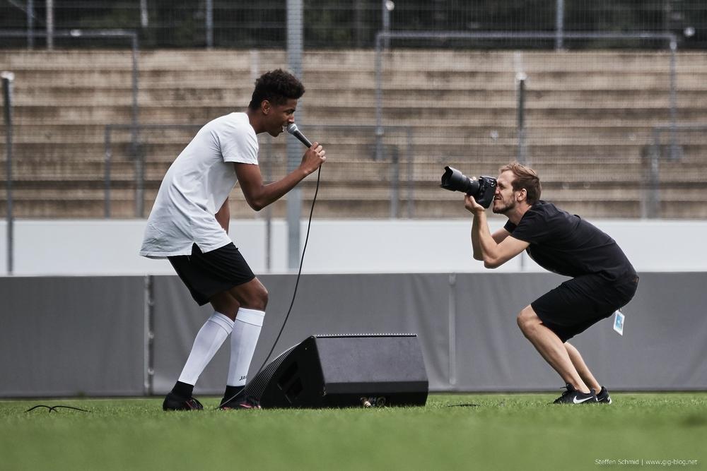 CHIMPERATOR & FRIENDS vs. VIVA CON AGUA ALLSTARS, 04.09.2016, Gazi-Stadion, Stuttgart