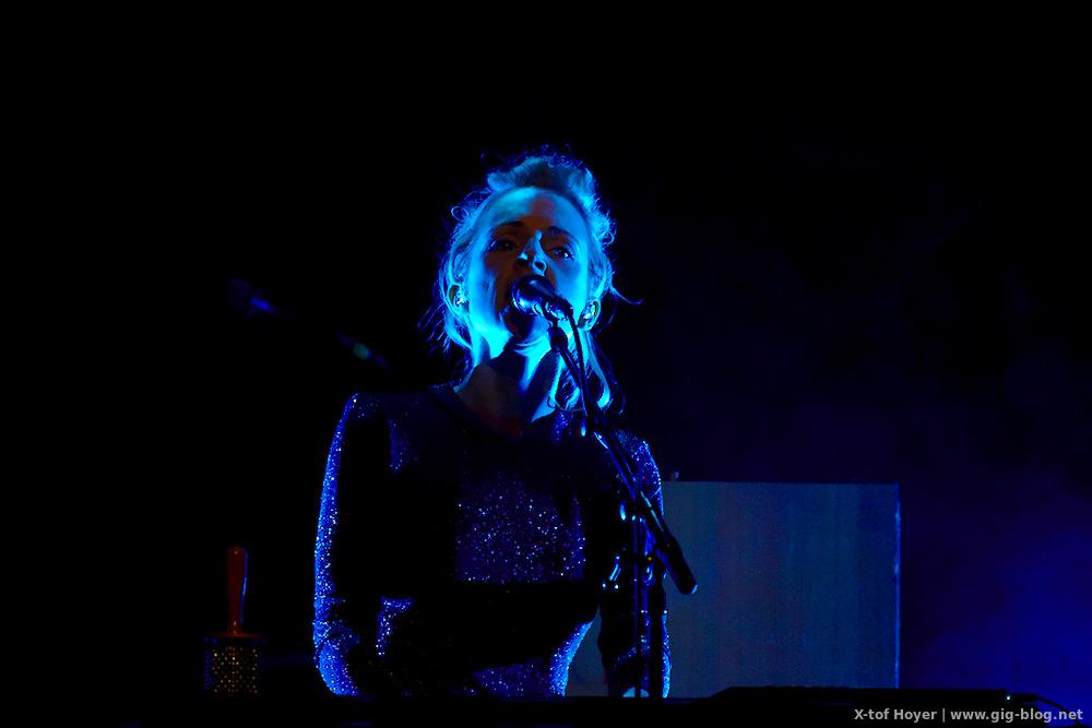 Konzertbericht: New Fall Festival Stuttgart - Agnes Obel und Frances, 30.10.2016, Liederhalle Stuttgart