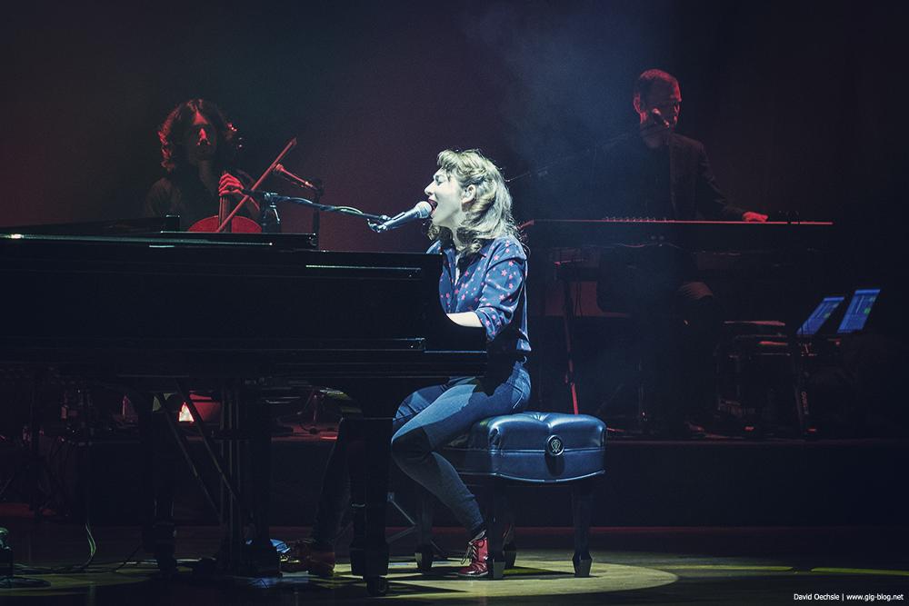 Regina Spektor beim New Fall Festival in der Liederhalle in Stutgart