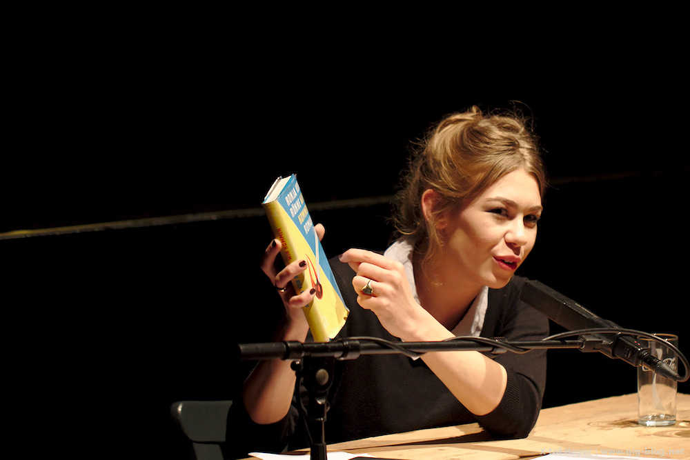 Bericht von der Lesung mit Ronja von Rönne