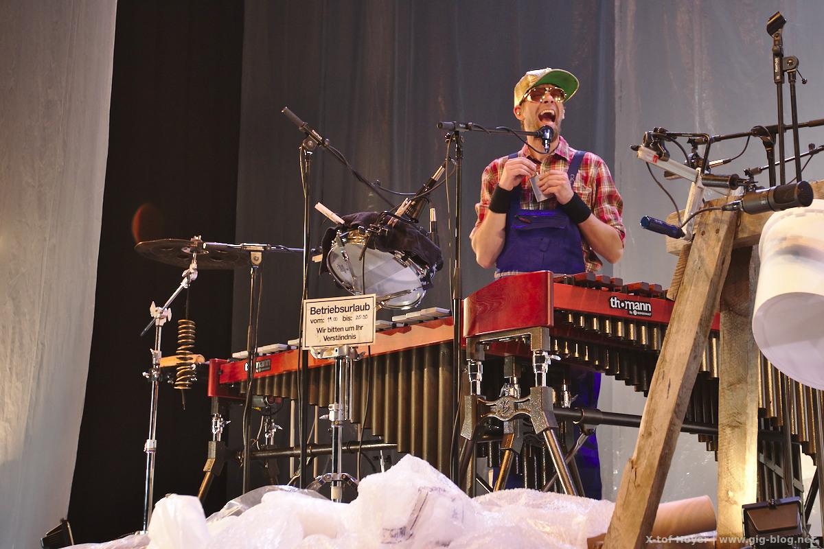 Konzertbericht: ALLIGATOAH, 15.11.2016, Theaterhaus, Stuttgart