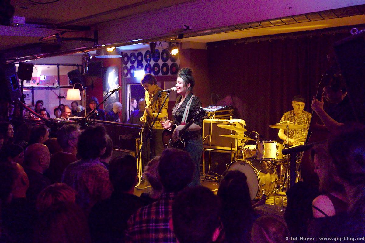 Konzertbericht: HOLLY GOLIGHTLY & BAND, HANNA FEARNS, 11.11.2016, Goldmark's, Stuttgart