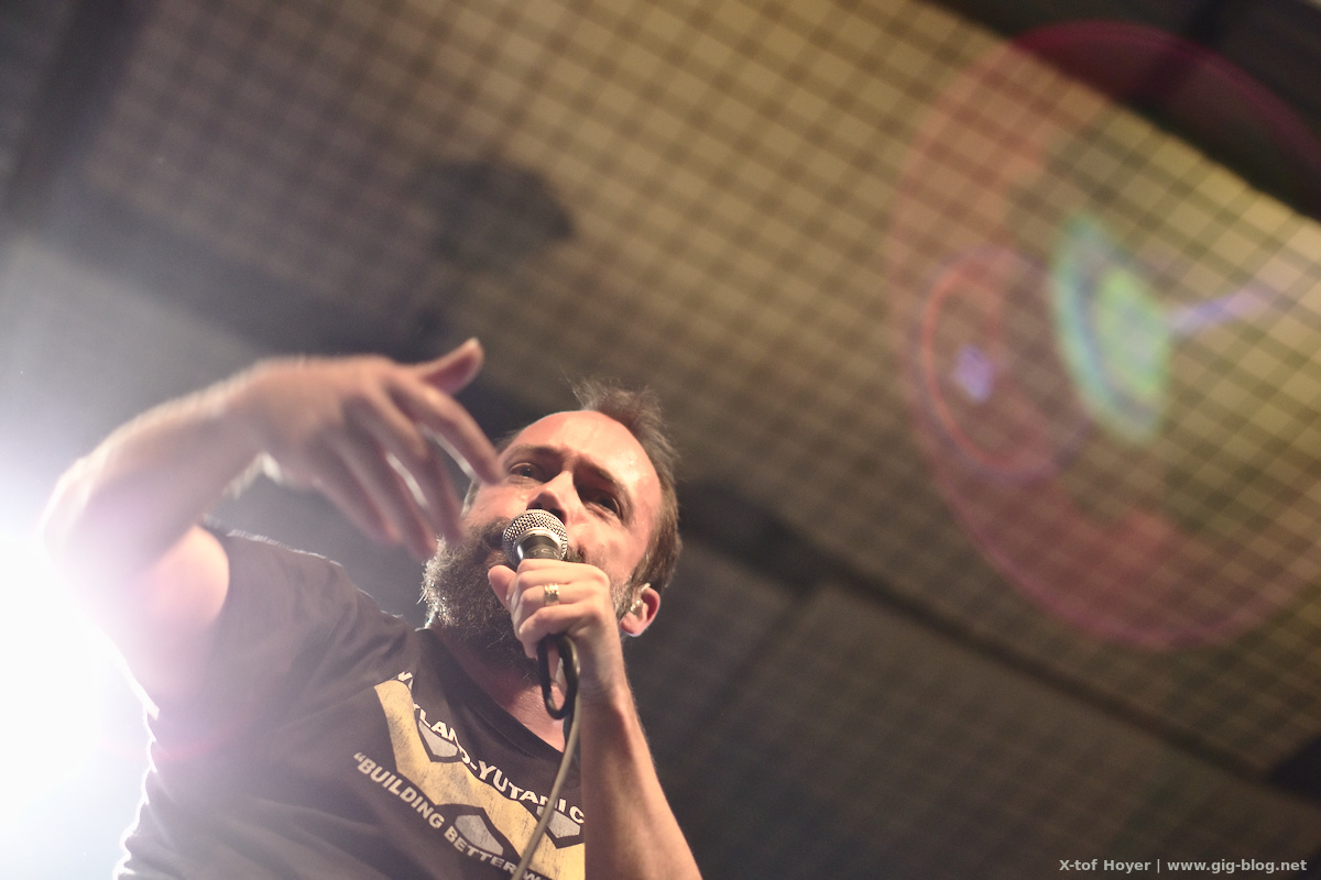 Konzertbericht: CLUTCH, 04.12.2016, LKA, Stuttgart (Text: Maren Katze, Fotos: X-tof Hoyer)