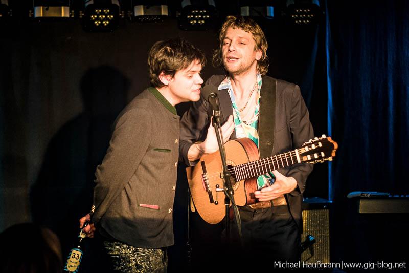 Konzertbericht: POPFREAKS: VOODOO JÜRGENS, DER NINO AUS WIEN, 15.01.2017, Merlin, Stuttgart