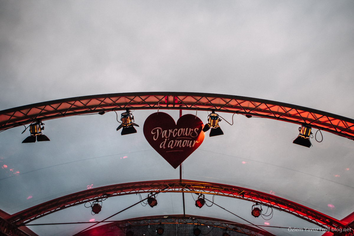 Maifeld Derby, Parcours d'Amour