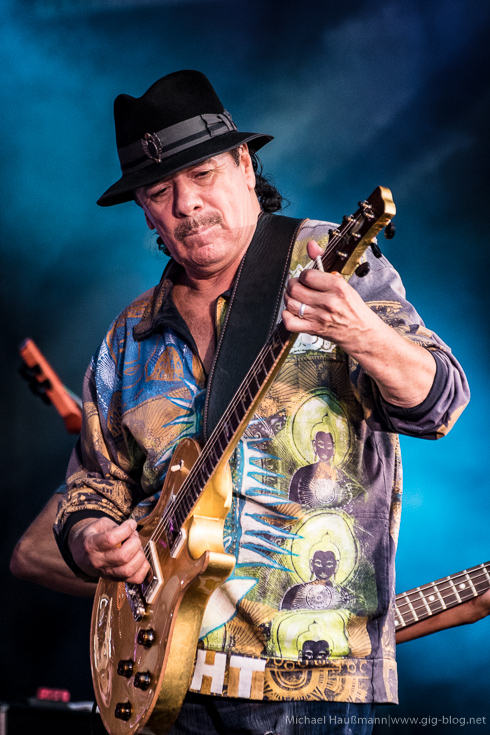 SANTANA, DR. LONNIE SMITH, 16.07.2016, Jazz Open, Schlossplatz, Stuttgart