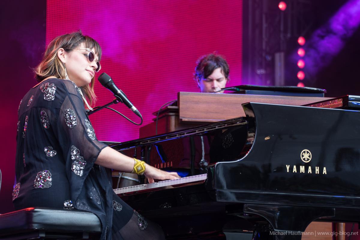 JAMIE CULLUM, NORAH JONES, 12.07.2017, Jazz Open, Schlossplatz, Stuttgart