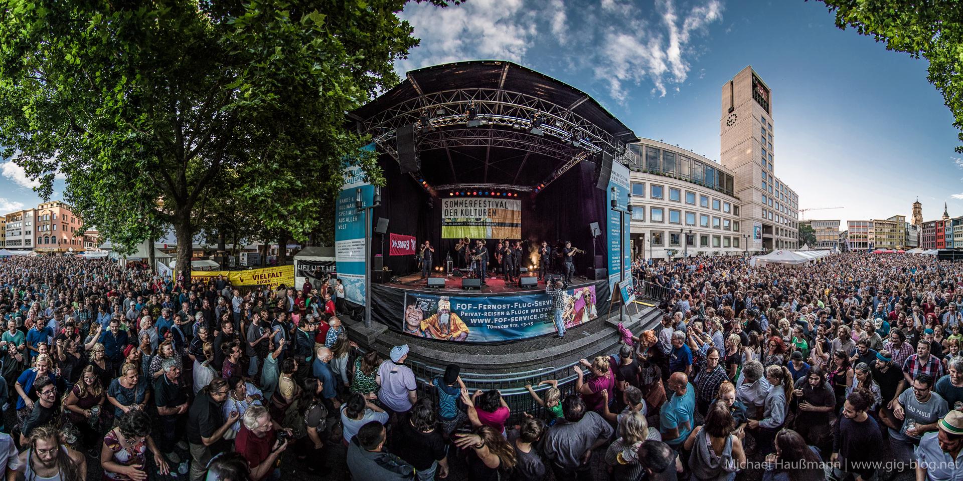 SOMMERFESTIVAL DER KULTUREN, 11.-16.07.2017, Marktplatz, Stuttgart