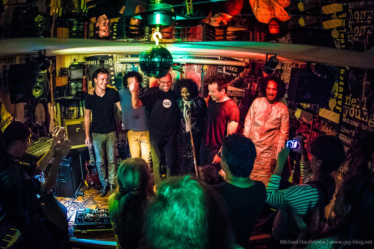 TAMIKREST, 24.07.2017, Edenless Bar, Leinfelden