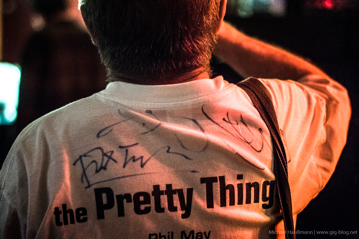 THE PRETTY THINGS, 26.09.2017, Goldmark's, Stuttgart