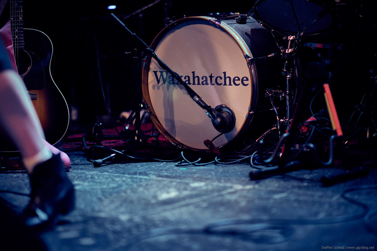 WAXAHATCHEE, 22.09.2017, Club Manufaktur, Schorndorf
