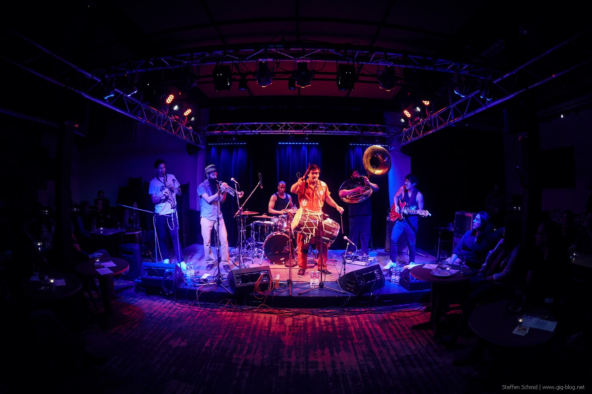 RED BARAAT, 02.11.2017, Laboratorium, Stuttgart