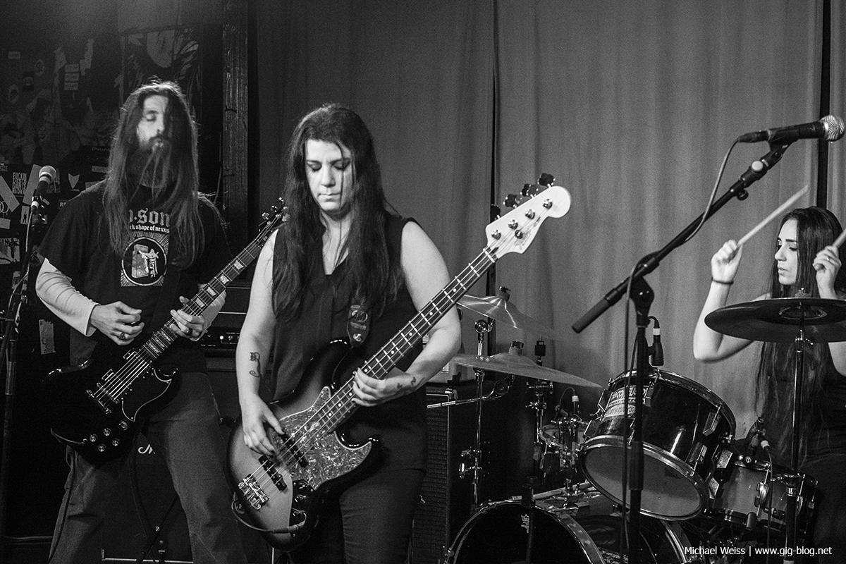 Black Capricorn, Keller Klub, Stuttgart, 23.02.2018
