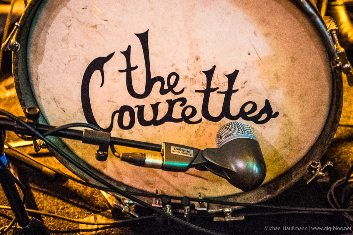 THE COURETTES, AIN'T NO GRAVE, 12.05.2018, Goldmarks, Stuttgart