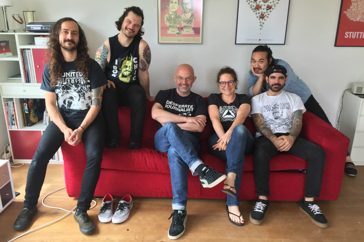 THE REMEMBERABLES, 18.05.2018, InDieWohnzimmer, Stuttgart
