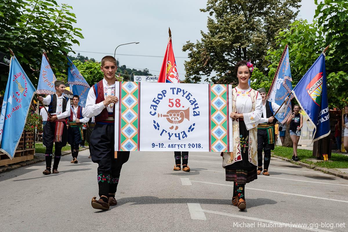 BOJAN KRSTIĆ ORKESTAR, 11.08.2018, Guča-Festival, Serbie