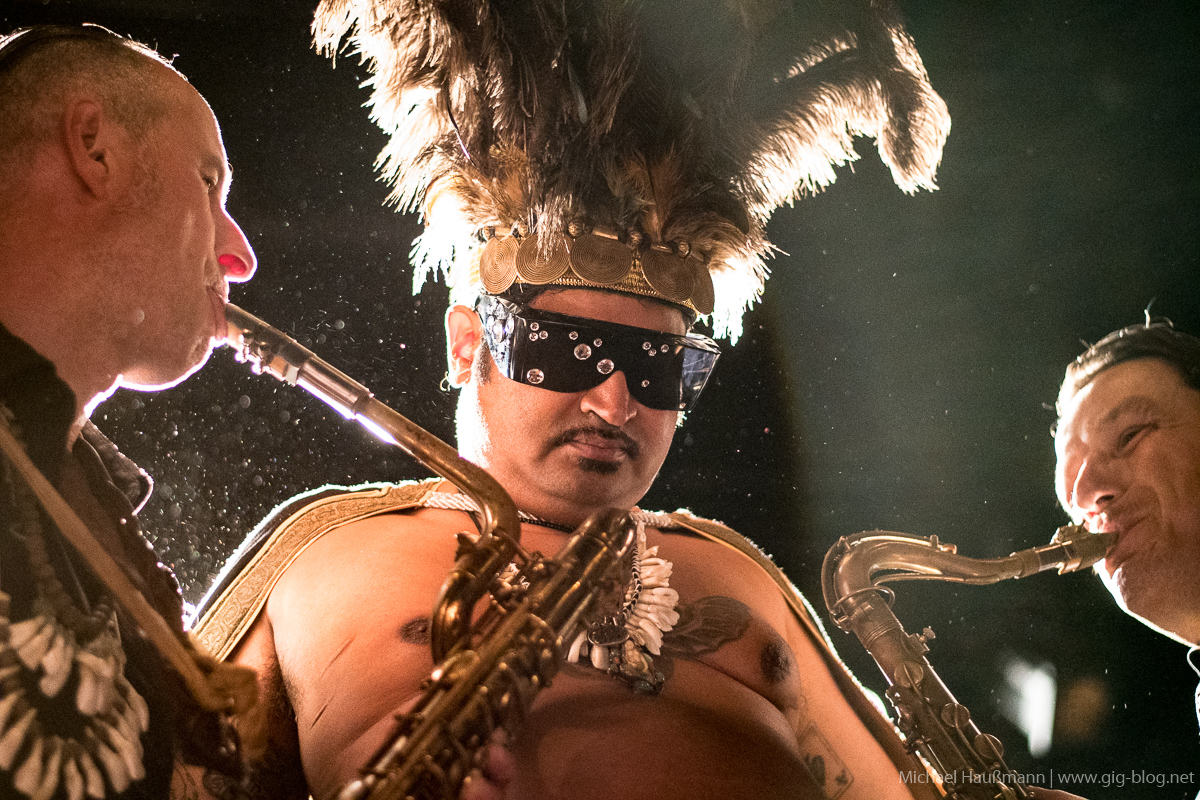 KING KHAN & THE SHRINES, THE RECALLS, 21.09.2018, Scala, Ludwigsburg