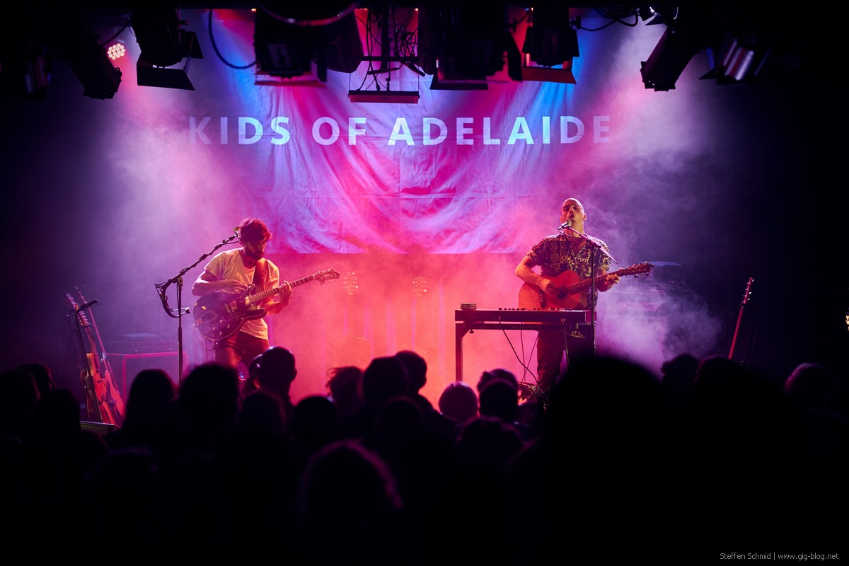 KIDS OF ADELAIDE, 23.11.2019, Dieselstraße, Esslingen