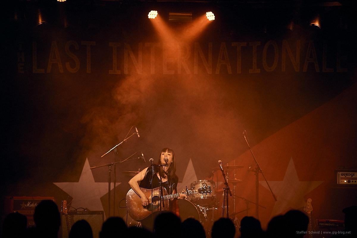 THE LAST INTERNATIONALE, SALLY GRAYSON, 05.03.2020, ClubCANN, Stuttgart