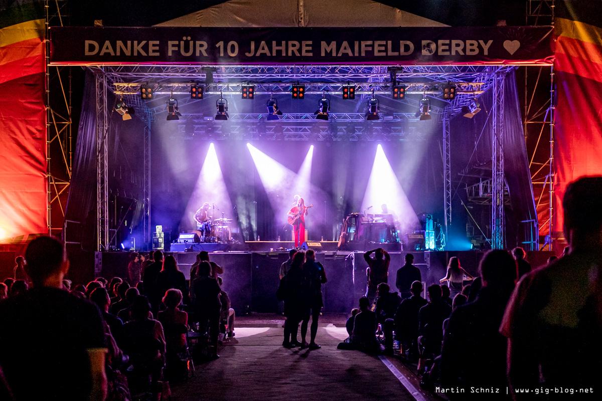 SOPHIE HUNGER, MAIFELD DERBY, Tag 2, 04.09.2021, MVV-Reitstadion, Mannheim