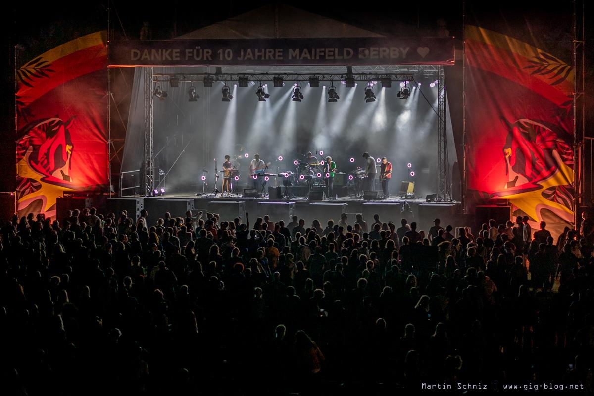 THE NOTWIST, MAIFELD DERBY, Tag 3, 05.09.2021, MVV-Reitstadion, Mannheim
